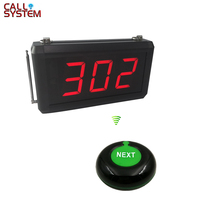 Queue Calling System with Next control button can add the number one by one and K-302 display ticket dispenser electronic queue management calling system with paper roll