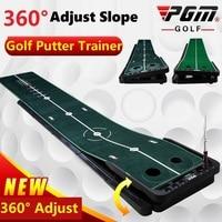 Pgm 3M Indoor Golf Putter Practice Green Putter Carpet Practice Set Adjustable Slope Mini Golf Putting Green Fairway