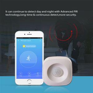 Image 3 - Wifi Smart Home Pir Motion Sensor Draadloze Infrarood Detector Security Alarmsysteem Voor Home Office Gebruik Levert Pxpa