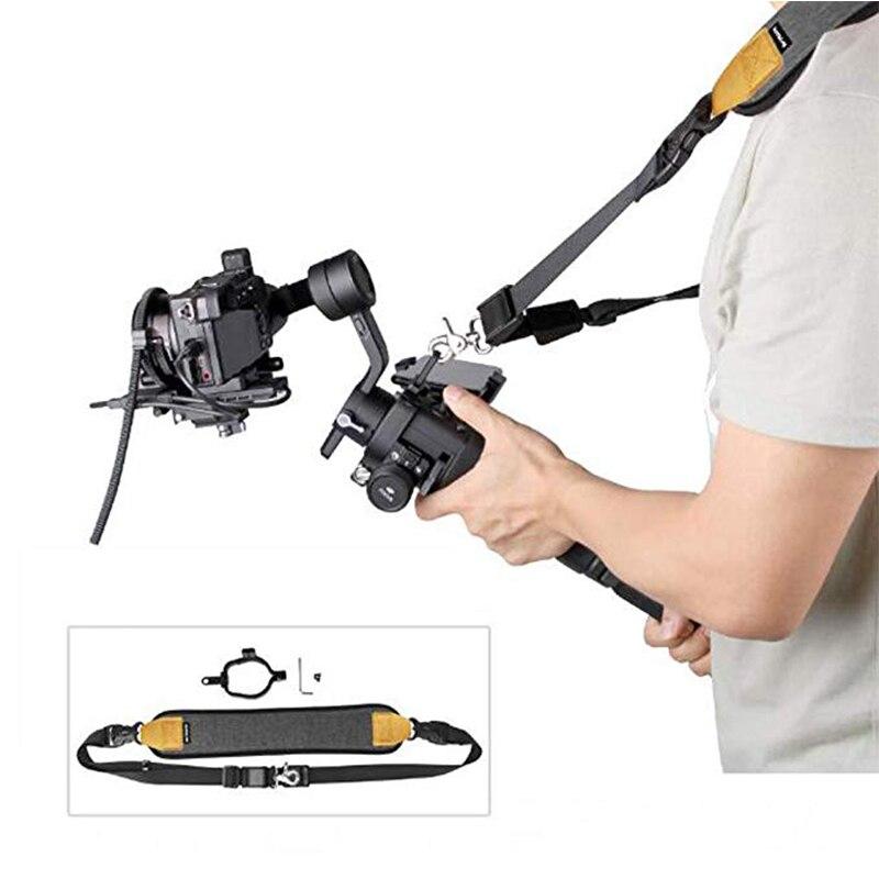 Pour DJI RONIN S/SC bandoulière ceinture fermoir boucle DJI RONIN S/SC 3 axes cardan stabilisateur caméra accessoires