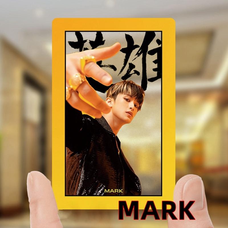 10Pcs/Set New KPOP NCT 127 NeoZone Album JaeHyun Mark Photo Card K-POP Self Made Paper Cards Autograph Photocard