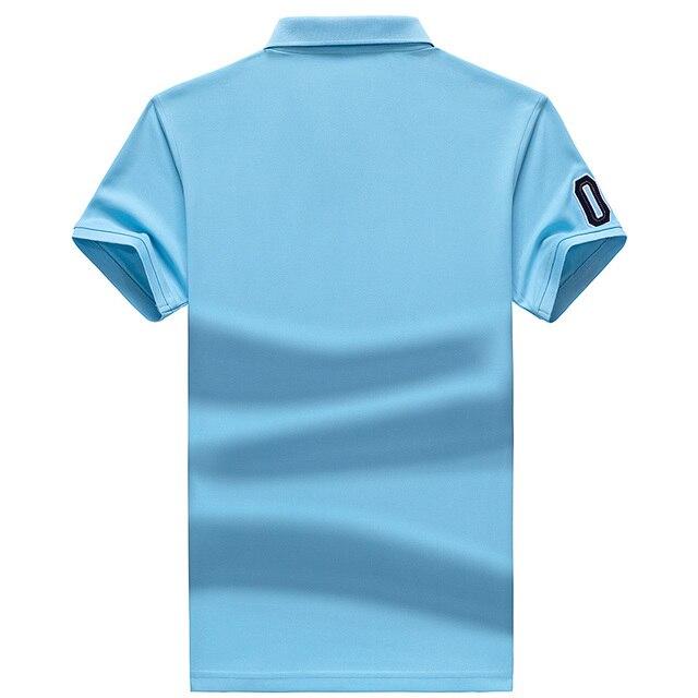 Polo Shirt Summer Brand Clothing Golf polo shirt Men Business Casual Male Polo Shirts Short Sleeve Breathable Soft Polo Shirt 6
