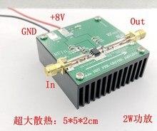 Amplificador de potência de banda larga de alta frequência rf rf3809 novo 2w amplificador 0.8-1ghz