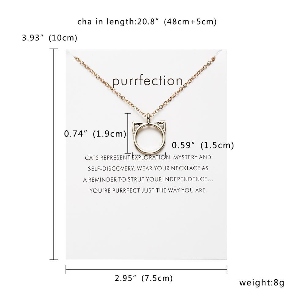 Rinhoo Karma, Двойная Цепочка, круглое ожерелье, золотое ожерелье с подвеской, модные цепочки на ключицы, массивное ожерелье, Женские Ювелирные изделия - Окраска металла: 1