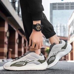 Image 4 - ชายน้ำหนักเบารองเท้าวิ่งรองเท้ากันกระแทกBreathableชายรองเท้าสบายๆเพิ่มขึ้นเดินรองเท้าZapatillas mujer