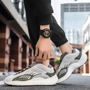 Image 4 - Mens lightweight running shoes shockproof breathable mens casual sports shoes increased walking fitness shoes Zapatillas mujer