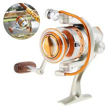 500 Series 12 Ball Bearing 5.2:1 Mini Fishing Reels Saltwater Freshwater Spinning Wheel with Metal Line Cup & Handle 7000 series 12 ball bearing 5 2 1 fishing reel saltwater freshwater spinning fishing wheel with metal line cup