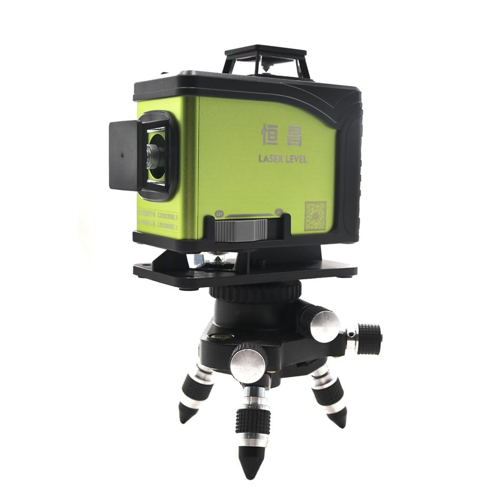 Image 5 - 16 line 4D laser level 360 Vertical And Horizontal Laser Level Self leveling Cross Line 4D Green Laser Level with outdoorLaser Levels   -
