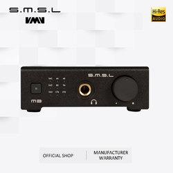 SMSL M3 USB DAC AMP Multi-function Optical Coaxial Headphone Amplifier Portable USB Powered Audio Decoder Portable DAC Converter