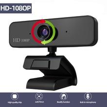 HD Webcam Autofocus Web Camera 2 Megapixel support 1080 Video Call Computer Peripheral Camera HD Webcams Desktop PC Built-in Mic