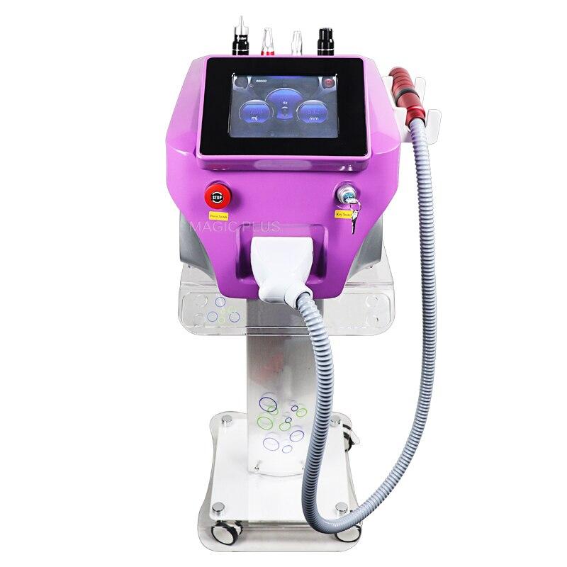 Портативный Nd Yag лазер Picosure Picosecond лазер с углеродистой кожуры для отбеливания кожи машина для удаления татуировок Бесплатная доставка