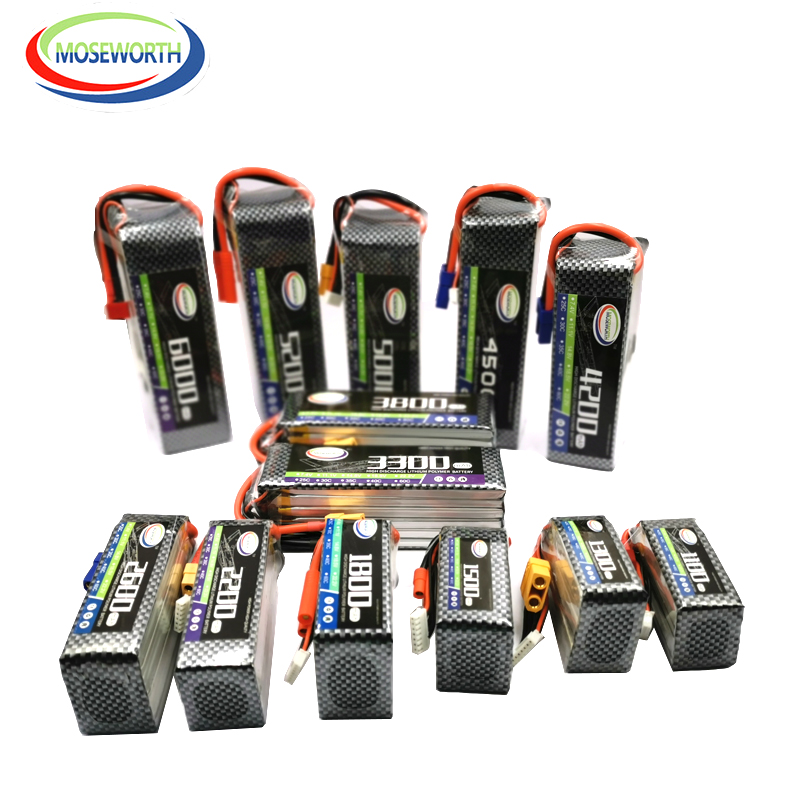 6S 22.2V 2200 2600 3000 3500 4200 5200 6000 10000 <font><b>12000mAh</b></font> 25C35C60C RC <font><b>LiPo</b></font> Battery For RC Drone Helicopter Quadcopter Airplane image
