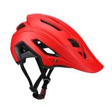 купить Ultra Light Mountain Bike Helmet Safty Cap Man Woman Cycling Helmets for Bicycle Equipment casco ciclismo дешево