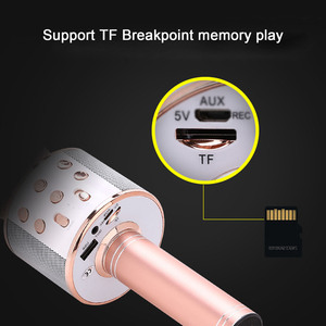 Image 5 - Besegad Wireless Bluetooth Karaoke Microphone 3 in1 Handheld Karaoke Mic Speaker for Music Playing Home KTV Singing Player