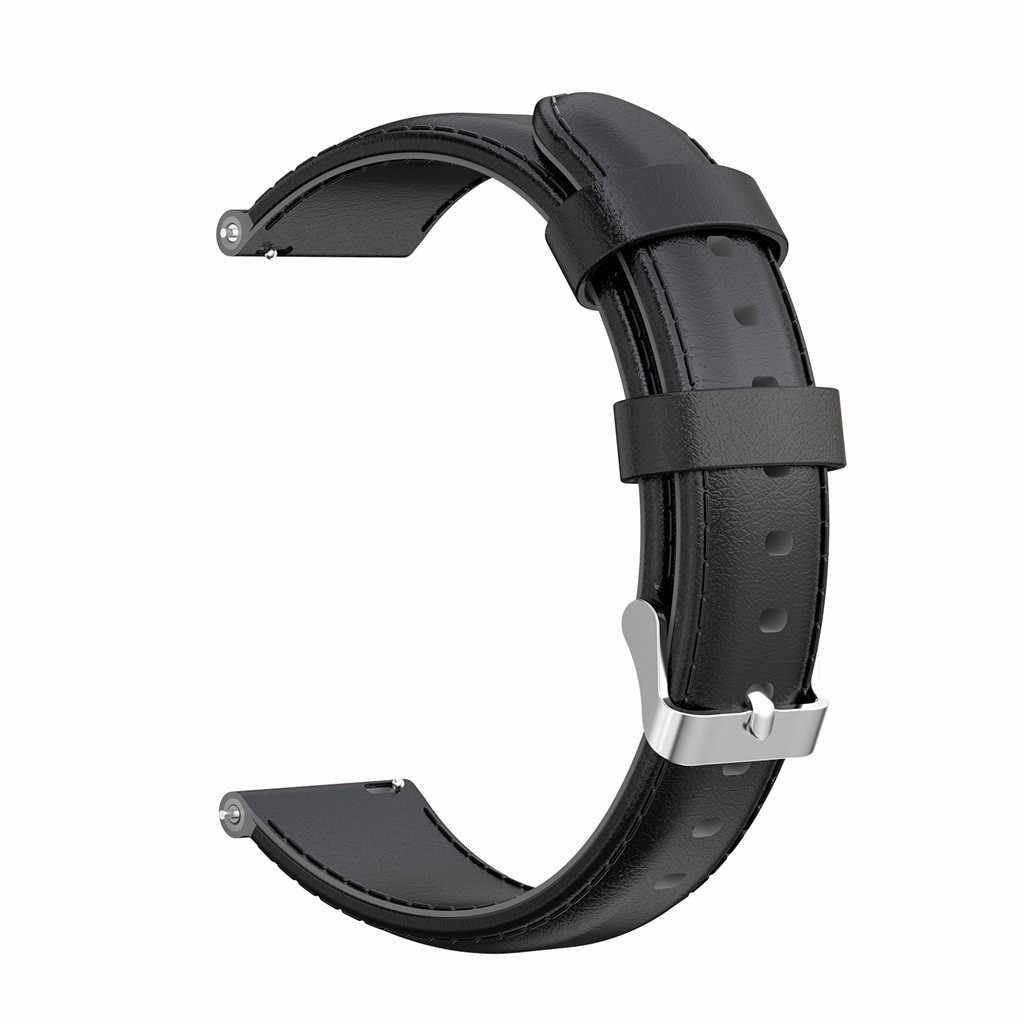 Сменный кожаный ремешок для часов для huawei Watch GT Active 46 мм Honor Magic Band смарт-ремешок для часов