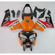 Motorcycle New Repsol INJECTION ABS Fairing Bodywork Kit For Honda CBR600RR CBR 600 RR F5 2005 2006 New motorcycle fairing kit for honda cbr600rr f5 07 08 cbr 600rr 2007 2008 cbr600 repsol red orange fairings 7gifts set hg55