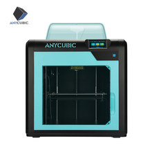 Anycubic 4Max Pro 3D Printer Tertutup Cetak Ruang 3D Printer Kit Besar Membangun Volume Ultrabase Filamen Extruder FDM 3d-Printer(China)
