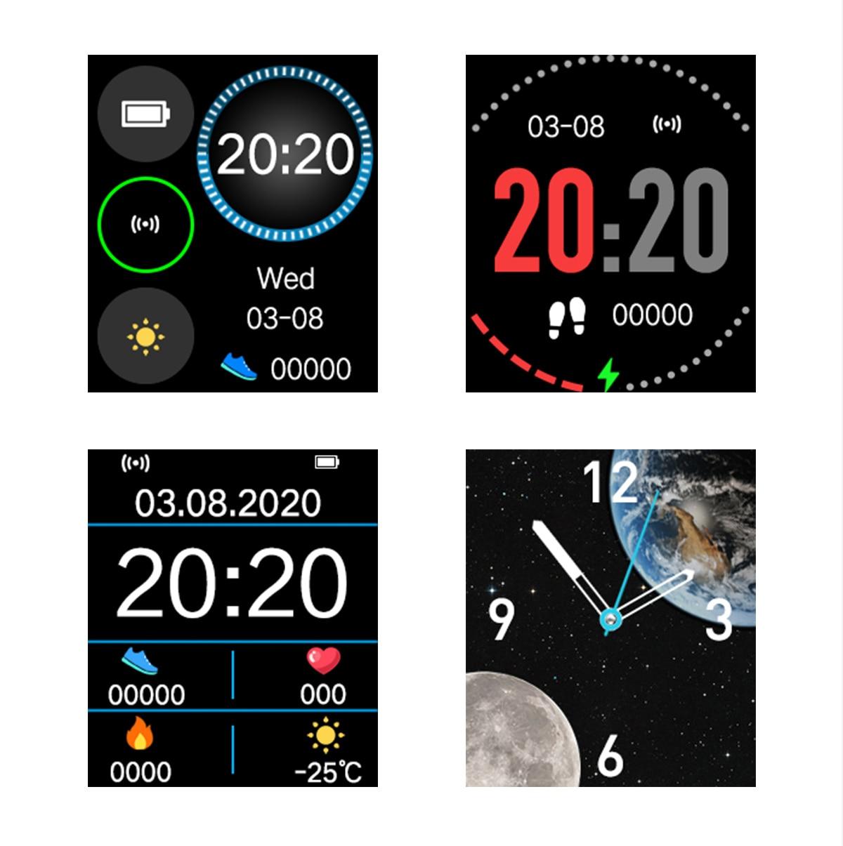 Hcddf468dccd64e9ab0d298a6c9623df4z MISIRUN Z15 Smart Watch for Man Women Full Touch Blood Pressure Smart Clock Women watch Smartwatch for IOS Android Xiaomi Phone