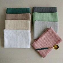 4pcs Per Set Waffle Tea Towels 45x65cm Strong Absorption Cotton Walf Checks Kitchen Tea Towel Kitchen Cleaning Towel 16 Styles
