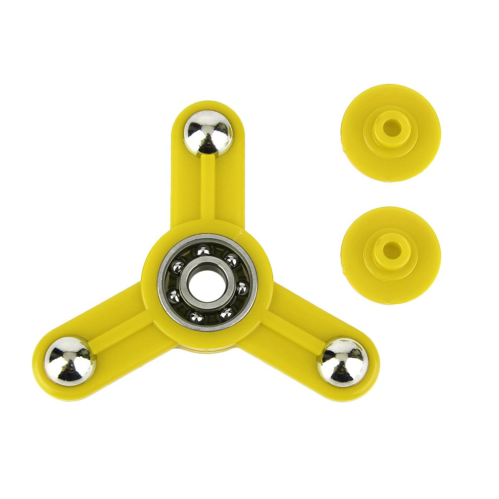 Tri-Spinner Toy Plastic Hand Spinner Finger Spinner Toys For Adults Kids Anti Stress Toys Trendy Unique Design With Four Holes