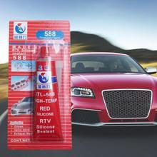 100 г прочный клей высокотемпературный герметик RTV красный крепежный клей для автомобильного двигателя зазор уплотнение Инструменты для ремонта