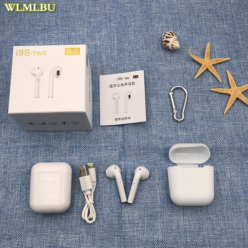 I7s I9s Tws Bluetooth Earphones Wireless Earbuds Sport Handsfree Earphone Cordless Headset With Charging Box For Xiaomi Phone