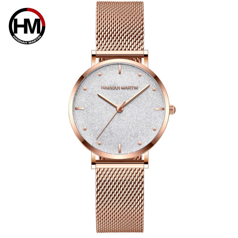 שעון יד רוז זהב 6