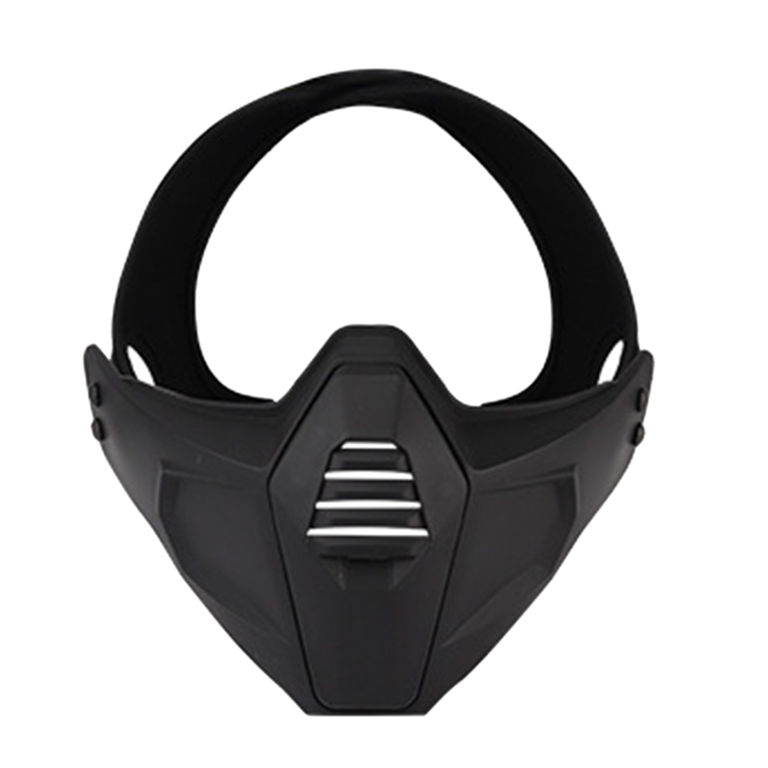 New Hot 1 Pcs Multi-Dimensional Split Type Tactical Face Mask - Black/Green/Tan/Grey/BCP/CP