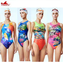 Yingfa swimwear  women swimsuits Kids racing kids competitive swimsuit Girls training competition swim suit professional