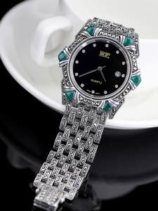 Bracelet Watch Silver Lady Jewelry Thai Factory-Direct Selling Delicateness S925