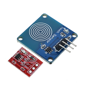 Image 5 - 5PCS TTP223 터치 키 스위치 모듈 터치 버튼 자동 잠금/잠금 없음 용량 성 스위치 단일 채널 재구성