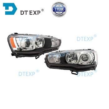 NO BULBS Xenon Headlight for Lancer Ex FT 2007-2019 Front HID Evo 10 Head Lamp Gt No Ballast - discount item  34% OFF Car Lights
