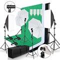 Светильник для фотостудии ing Kit 2x3M, фоторамка с 3 шт., светильник для фотосъемки, софтбокс, штатив с отражающим зонтом
