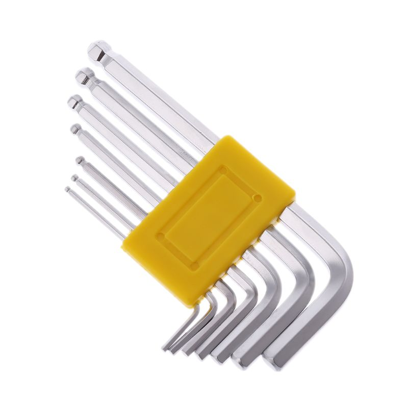 Guitar Wrench Set Hex Screw Truss Rod Tool 7in1 1.5-6mm