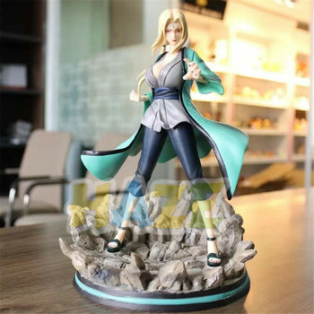 Anime Naruto Shippuden Tsunade PVC Figure Doll Toys Statue Model Collection Anime Figure Toys Kids Gifts In Box 28cm