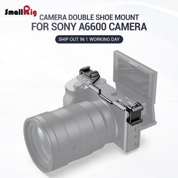 Płytka do przenoszenia butów SmallRig do kamery Sony a6600 Vlog Rig do mikrofonu lub latarka 2498 tanie i dobre opinie Ze stopu aluminium ze stopu aluminium BUC2498-SR 139 x 30 x 24 5mm DSLR Camera Cold Shoe Rig for Sony A6600