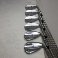 quality golf iron set golf wedges SM7 wedges silver colors 50 52 54 56 58 60 degree  golf iron set