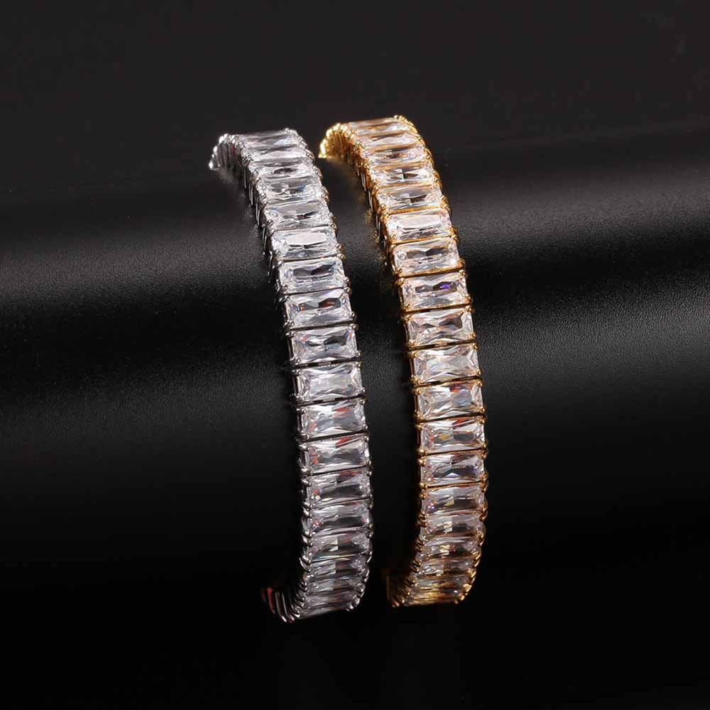 9.5mm acier inoxydable Miami gourmette bijoux Bracelet collier ensemble mode Bling chaîne pour les hommes riches