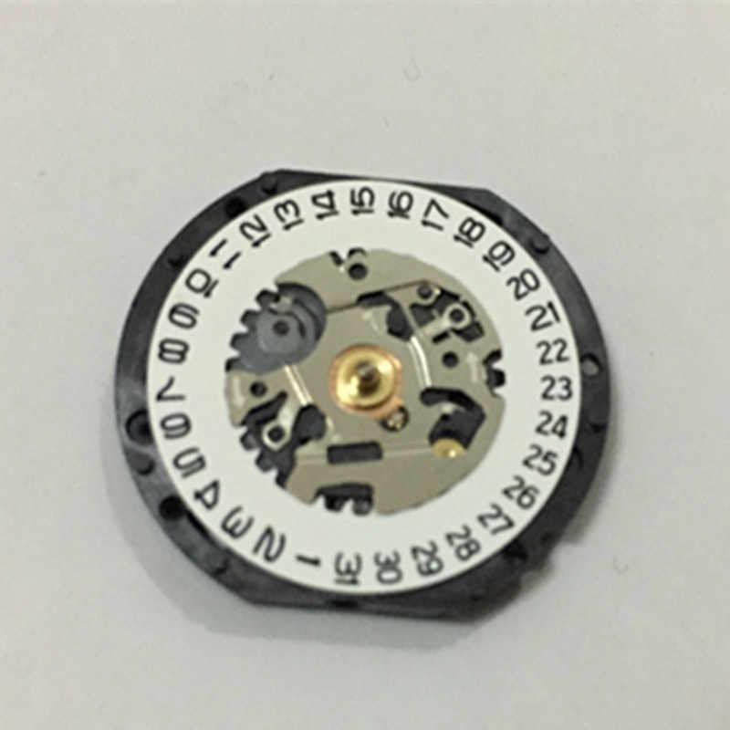 時計アクセサリー新オリジナル日本VX19E運動VX19 2 ピン 3 点ウィンドウバッテリーなし