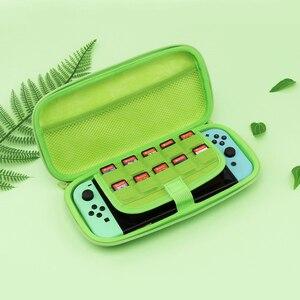 Image 3 - Schalter Fall Tragbare EVA Hard Shell Cases Abdeckung Für Nintend Schalter Konsole Trage Tasche Umhängetaschen Lagerung Zubehör