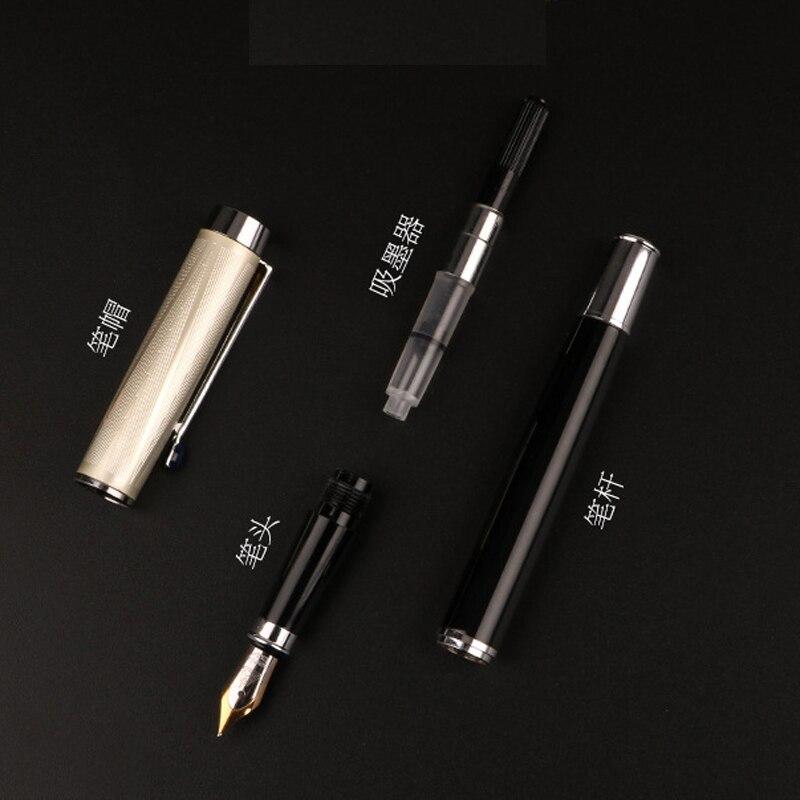 1pc de alta qualidade negocio caneta fonte 04