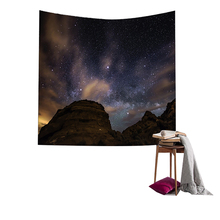 Lychee DIY Polyester Planet Series Painting Wall Hanging Tapestry Blanket Art Carpet Home Decorative