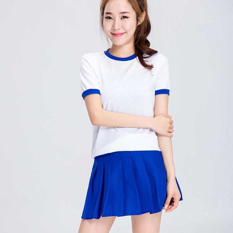 Japanese School Uniform Cosplay Costume Gym Sportwear T-short Shorts Full Set 2020