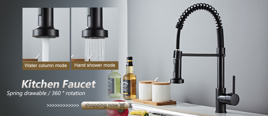 Hcde35b09bc864406819eb1c795ee9e23a Black Faucet Bathroom Sink Faucets Hot Cold Water Mixer Crane Deck Mounted Single Hole Bath Tap Chrome Finished ELM457