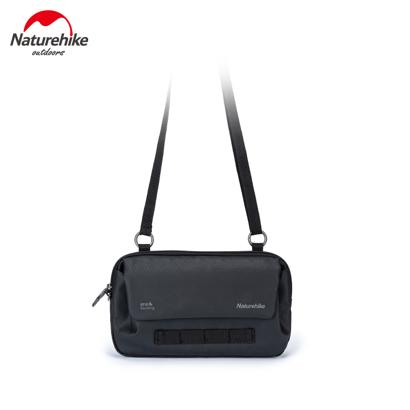 Naturehike String Bait Multi-functional Anti-Theft Outdoor Sports Fitness Crossbody Bag Travel Document Package NH20BB010