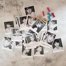 56 шт. Kpop Bangtan Boys Wings памятные коллекционные LOMO карты фотокниги Jimin JIN SUGA J-HOPE Rap Monster любовь себя