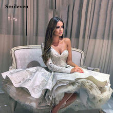 Smileven/кружевное платье на одно плечо для выпускного вечера