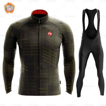 2020 velo de inverno pro conjunto camisa ciclismo mountian bicicleta roupas wear ropa ciclismo corrida roupas ciclismo conjunto 23