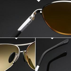 Image 5 - YSO 2020 מקוטב ראיית לילה משקפיים לגברים ראיית לילה משקפי לרכב נהג נהיגה אנטי בוהק צהוב משקפיים נשים 6695