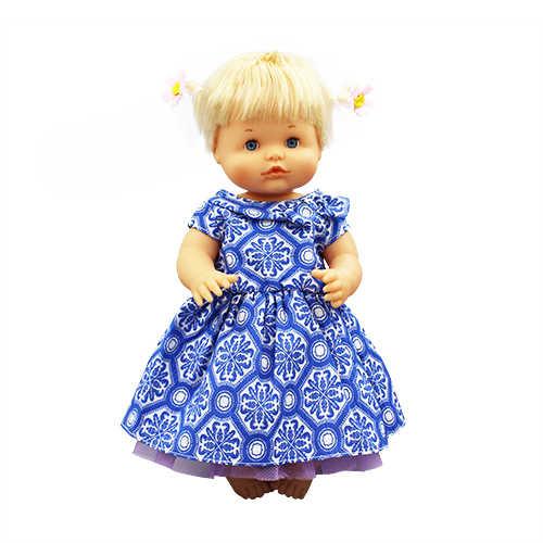 Ropa de vestido azul para muñeca Nenuco de 42 cm
